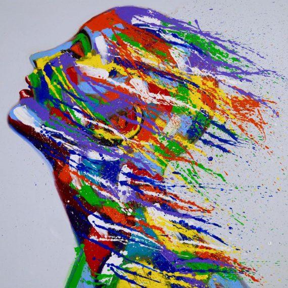 דמות צבעונית