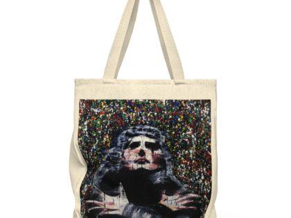 Freddie Mercury- Canvas tote bag by Itay Magen