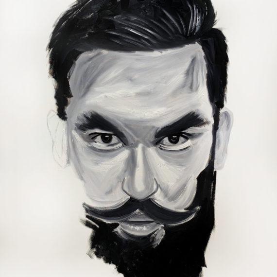 Man- Original oil painting