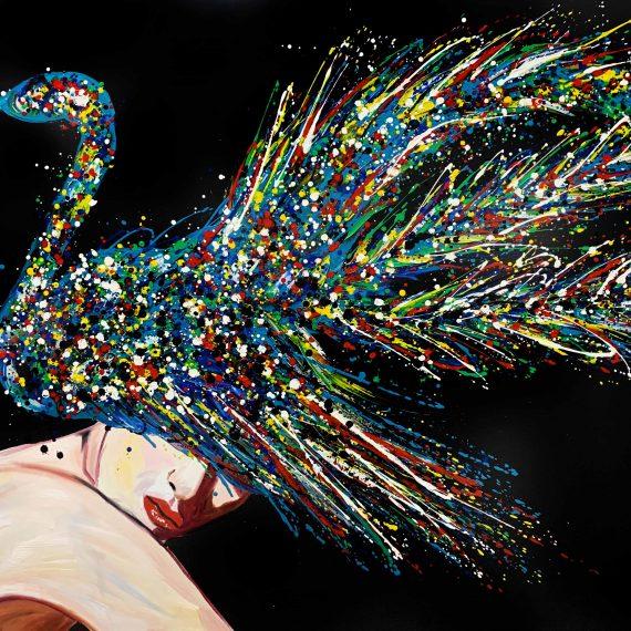 Swan- Original Oil Painting