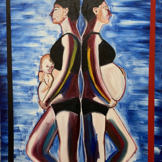 50% OFF | Mother- Original oil painting